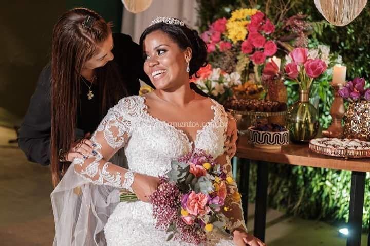 Casamento lindo da Samyra