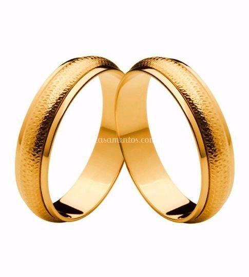 Alianças de Ouro 18k Gold Cupi