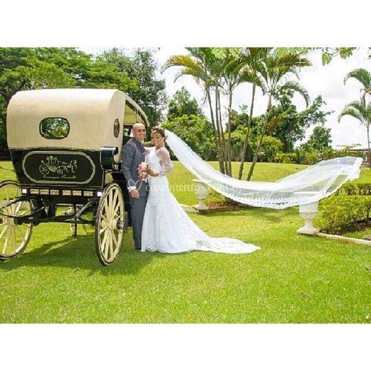 Casamento no campo.