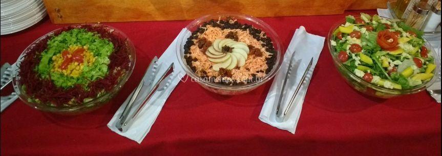 Saladas acompanhamento