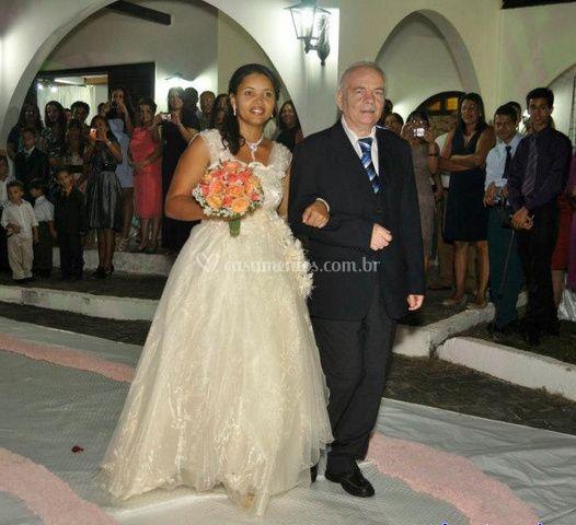 Noiva na igreja