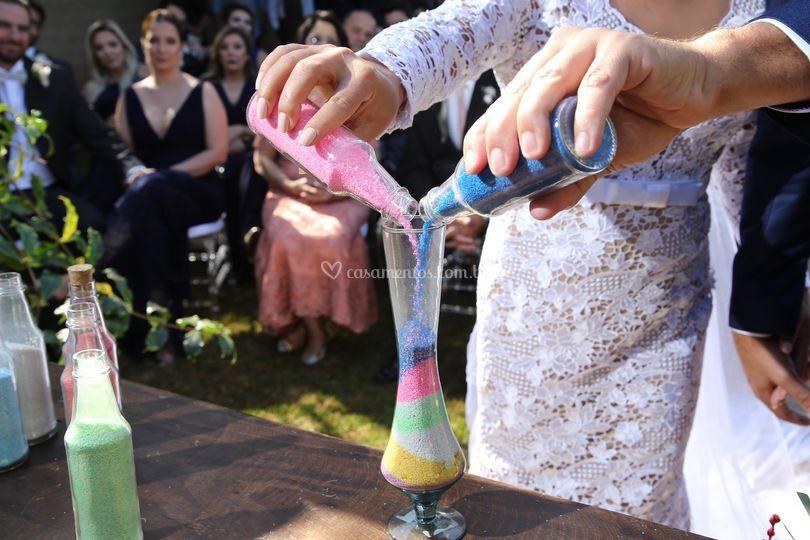 Cerimônias das areias noivos!