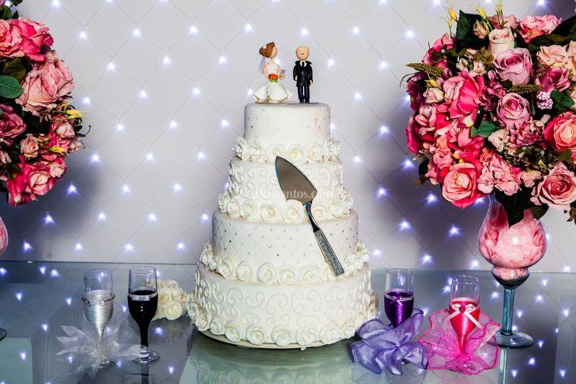 Mansão 1 Mesa do bolo