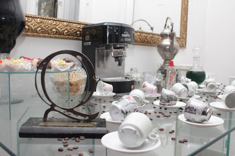 Mansão 1 Mesa do café