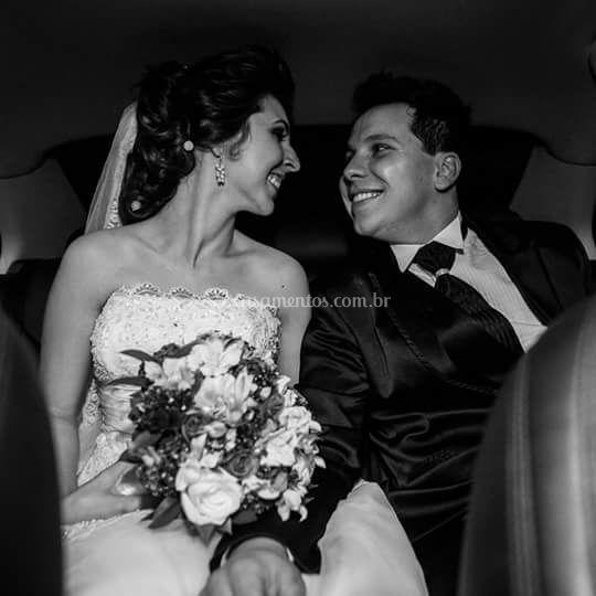 Noivos Dani e Murillo