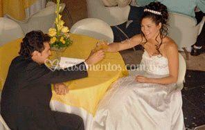 A simpatia da noiva e do noivo