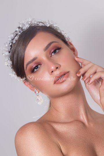 Glaucie Calanchini makeup
