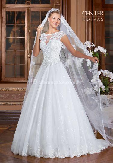 Vestido de noiva gardenia