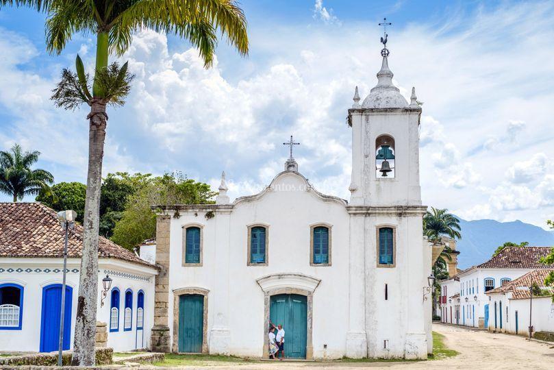 Igreja em Paraty
