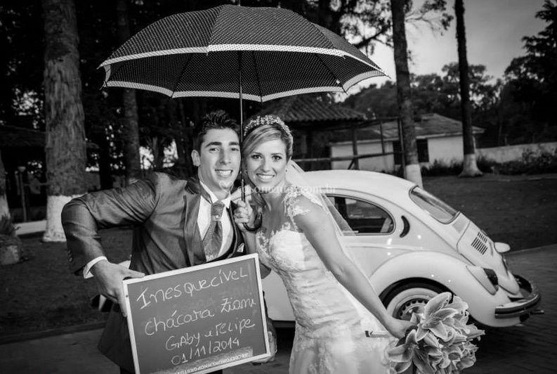 Felizes pela escolha- Dia do casamento
