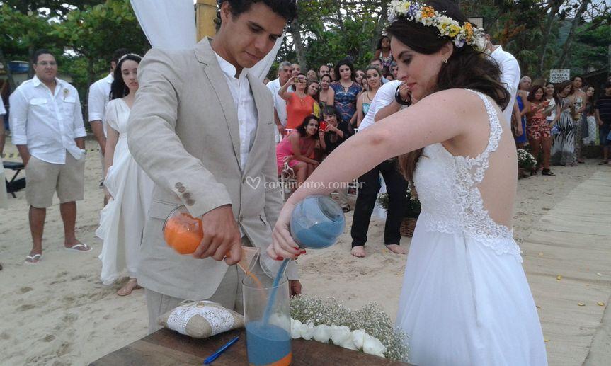 Casal Natália e Tiago