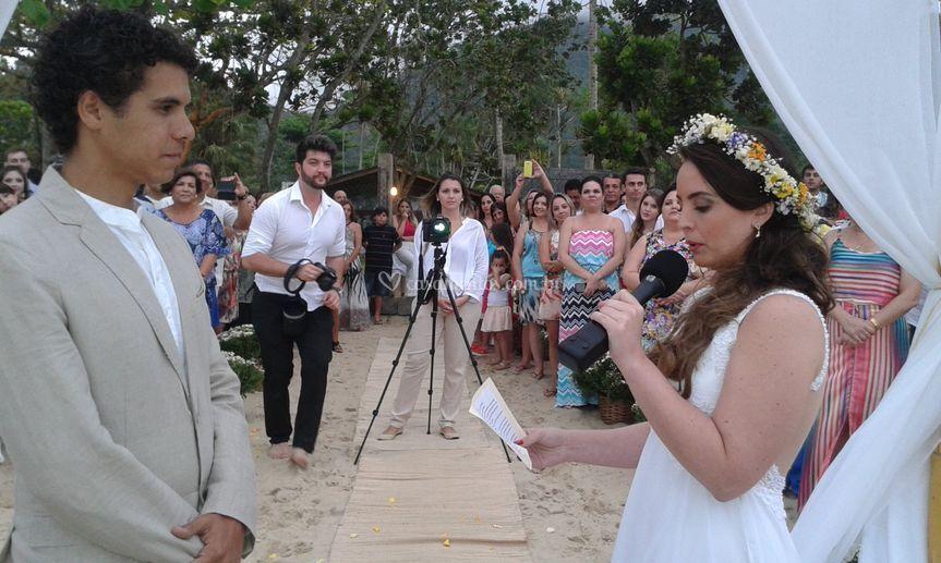 Votos na noiva