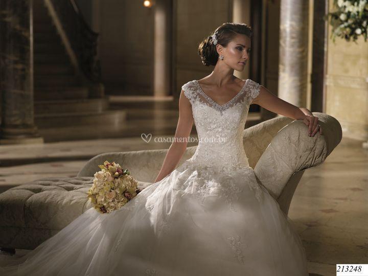 Vestido de noiva de G & G Noivas