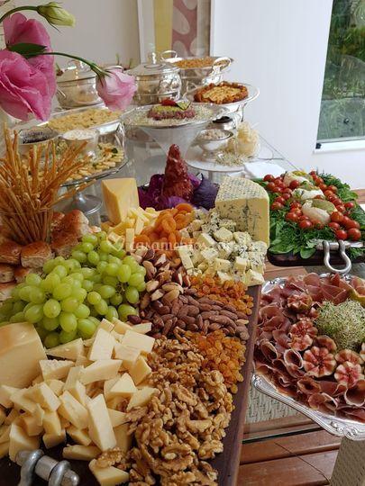 Mesa de degustação