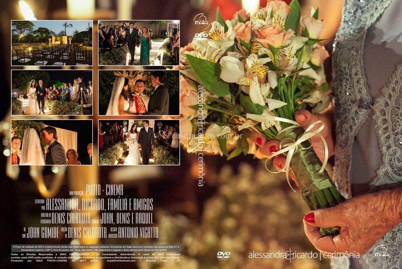 Capa dvd especial cerimonia