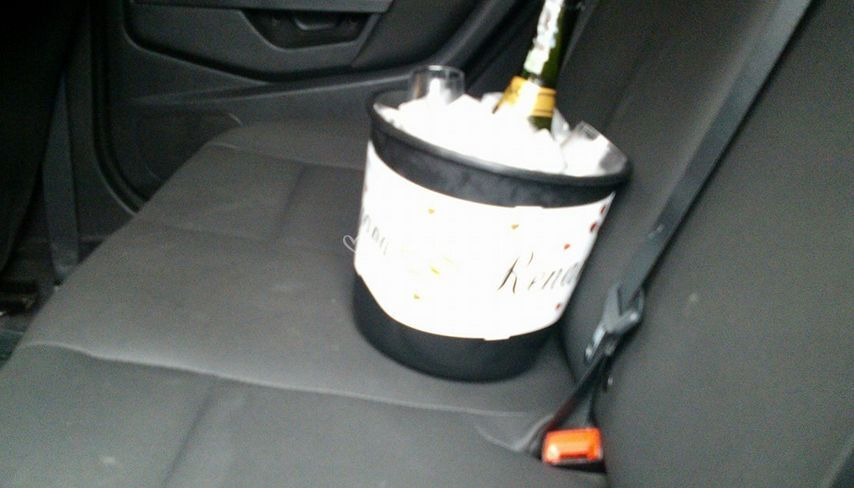 Champanhe para o casal