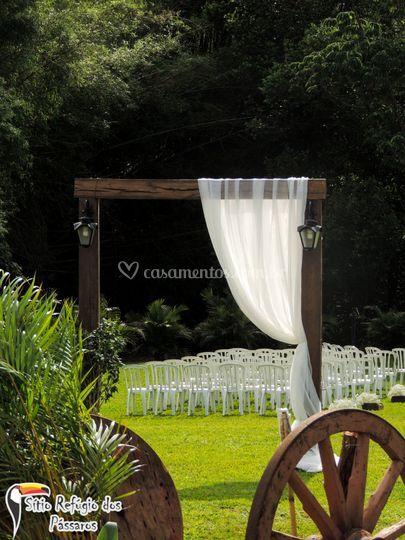 Portal para cerimônia