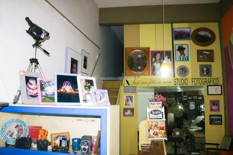 Stúdio e loja