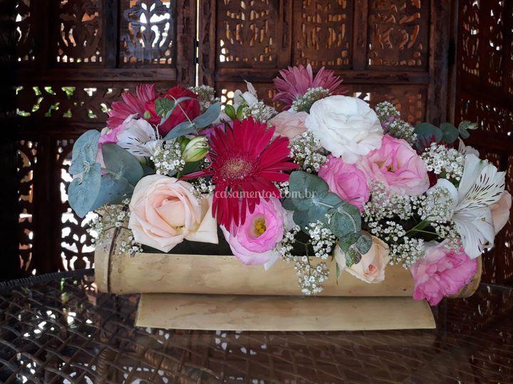 Arranjos florais.