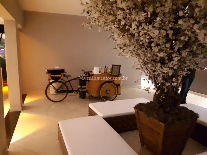 Foodbike em casamento