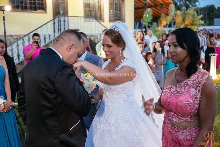 Casal Romulo e Deborah