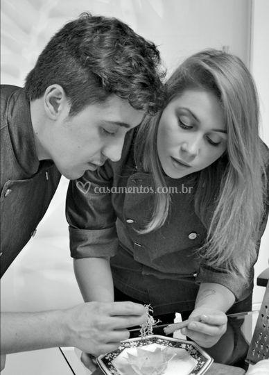 Chefs Sophia e Rodolfo