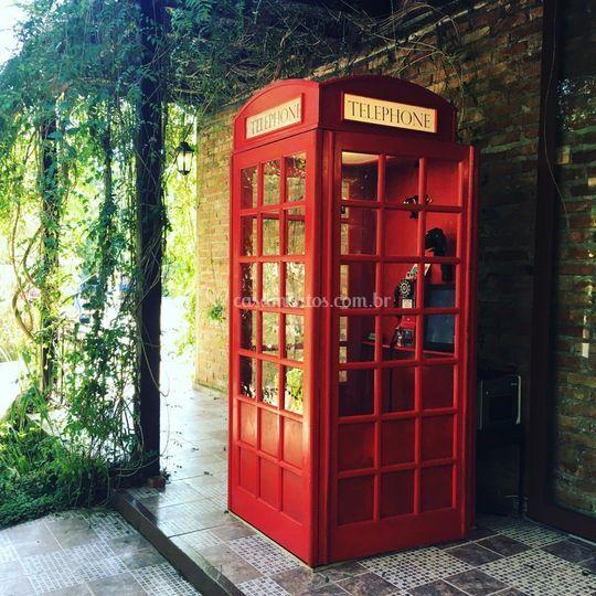 Cabine Fotográfica de Londres