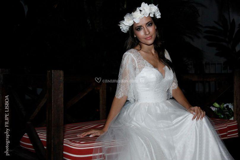 Vestido vintage Mayte Piragibe