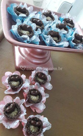 Mesa de doces em casamento