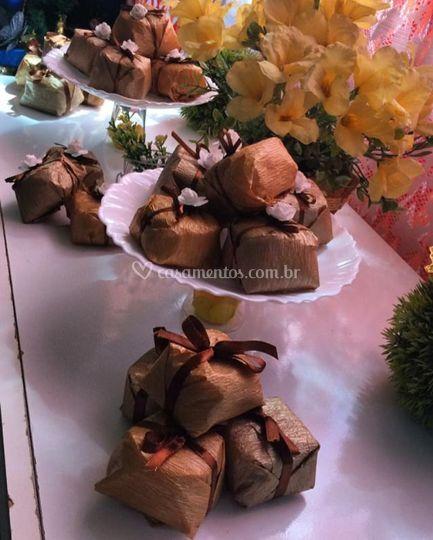 Mesa de mini wedding