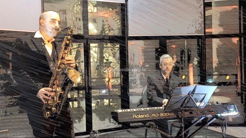Sax e piano