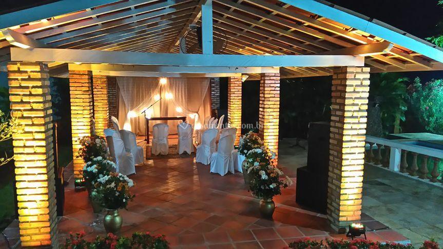 Iluminação da Cerimônia