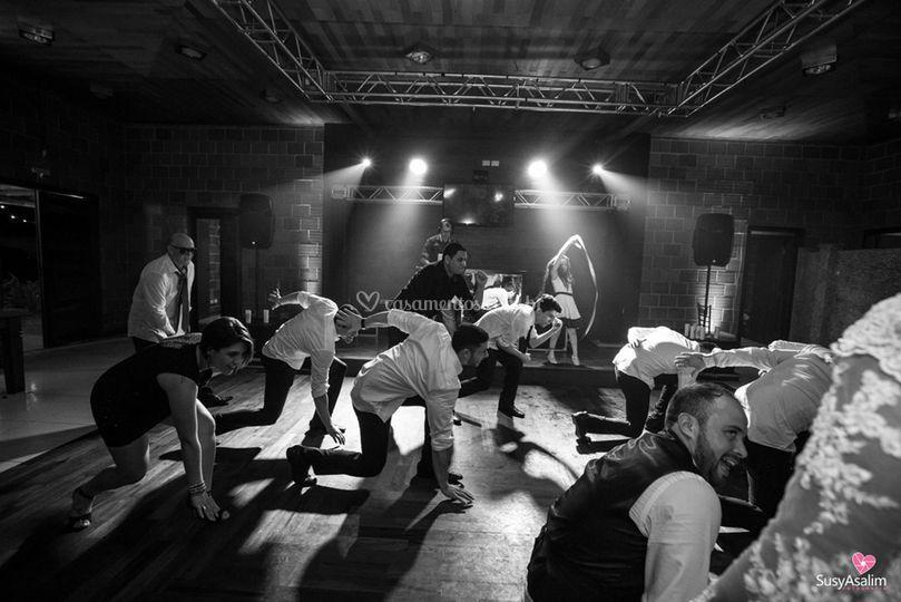 K&C - dança dos padrinhos
