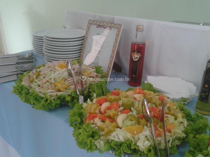 Saladas variadas
