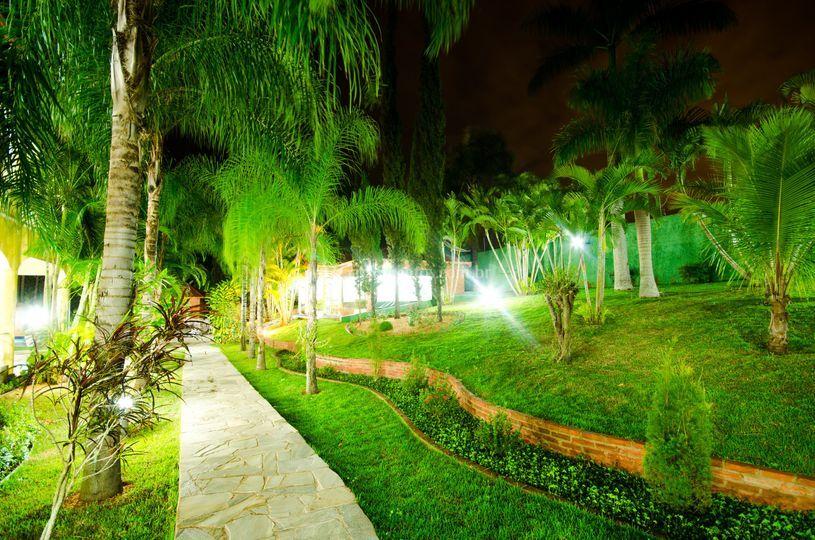 Jardim de pérolas