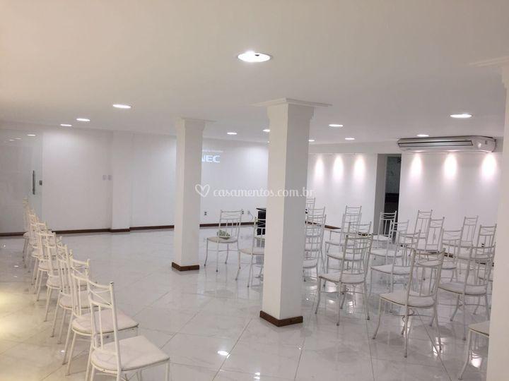 Salão amplo
