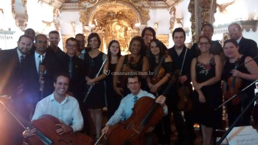 Orquestra para cerimônia