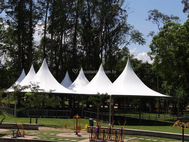 Locações de tendas