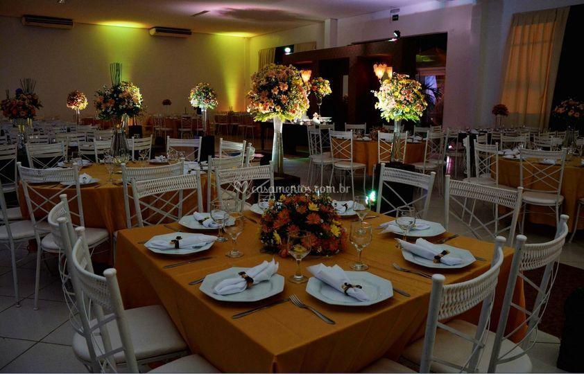 Salão e decoração para eventos