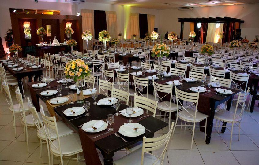Espaço e decoração para evento