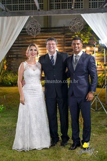 Casados -Bia e Ramon