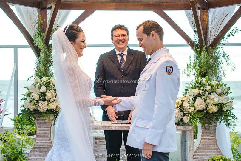 Casados -Carolina e Adilson