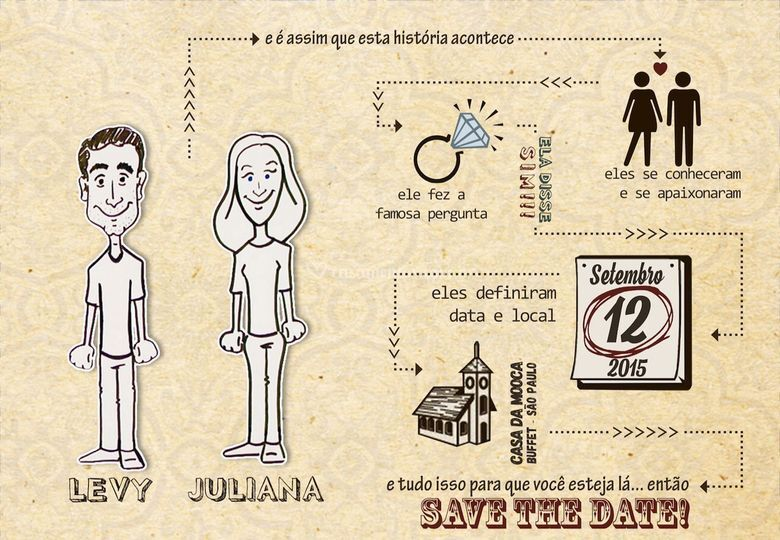 Save The Date - Animado