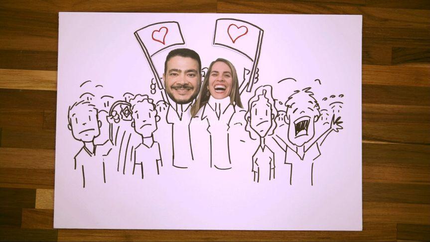 Retrô Casamento  - Freehand