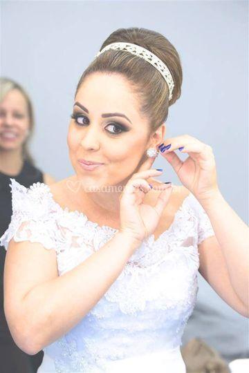 Noiva Ariany Nielsen Silva