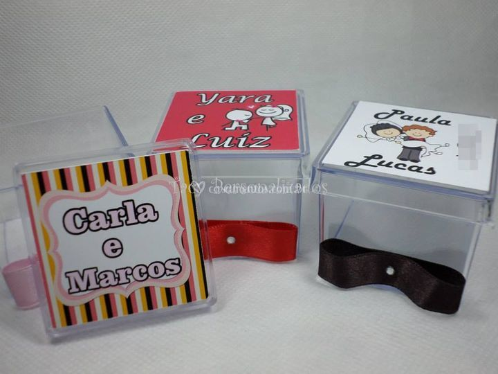 Caixa de Acrílico 5 x5