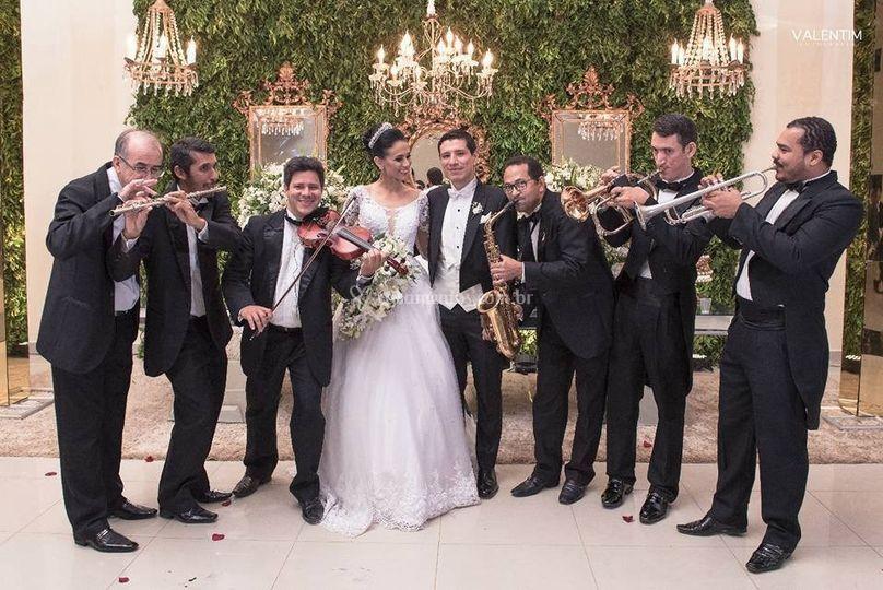 Fotos com a noiva
