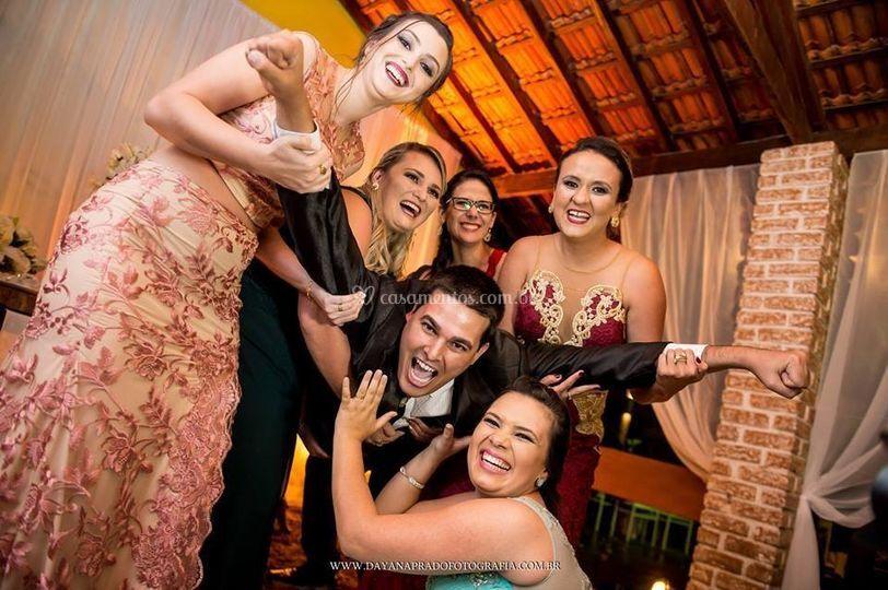 Família do noivo