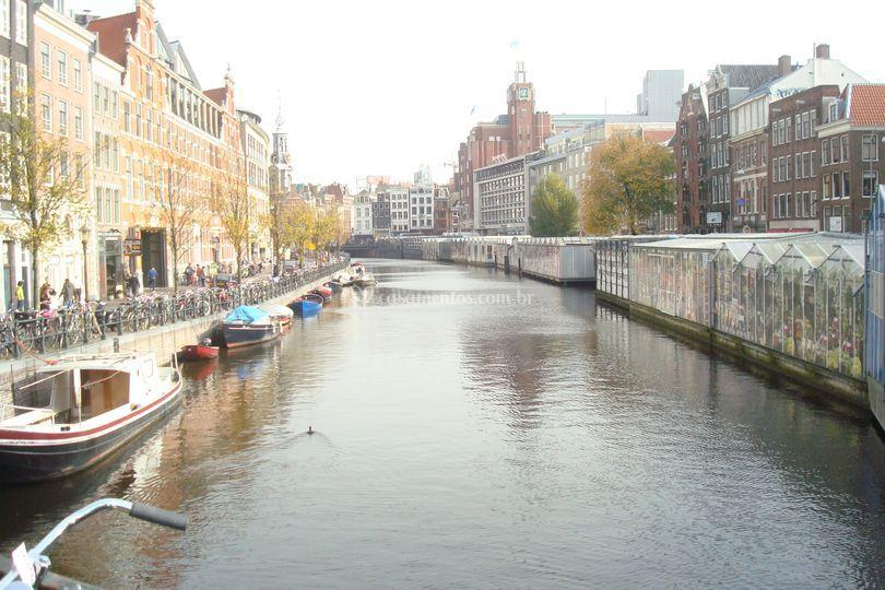Viagem a dois Amsterdan