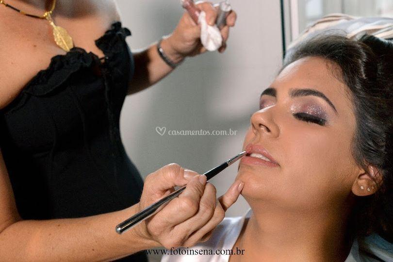 Ci carvalho makeup